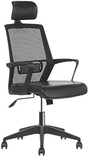 Sillas de Oficina Las sillas de Escritorio, Silla de la computadora Silla de Oficina de Malla ergonomía Silla con Respaldo Alto Silla Ajustable Apoyo for la Cabeza del balanceo Silla giratoria