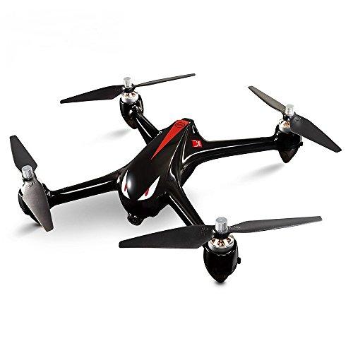 Virhuck MJX Bugs 2 B2W Brushless Drone con Telecamera 1080P Full HD RTF 5GHz WiFi FPV / Posizionamento GPS / 2.4GHz 4CH Trasmettitore a Doppio Senso (Nero)