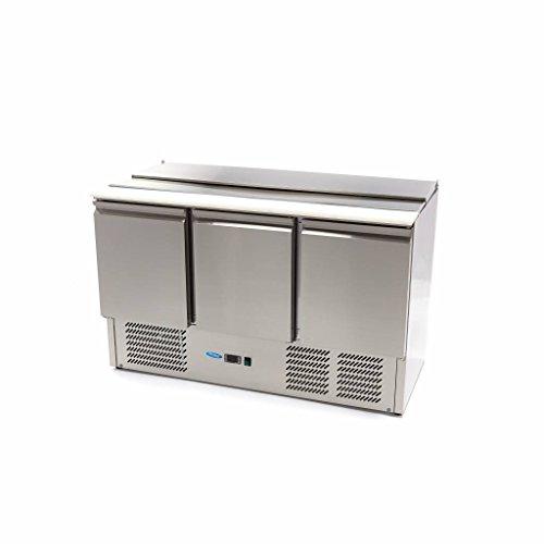 Kühltisch Saladette SAL903 SLT - 3 Türen