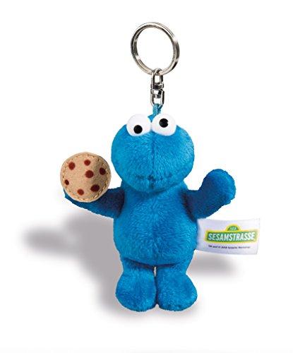 NICI 41960 Sesamstraße Schlüsselanhänger Krümelmonster, Blau
