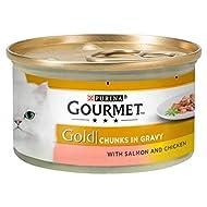 Gourmet Gold Salmon & Chicken in Gravy 12 x 85g 1020g