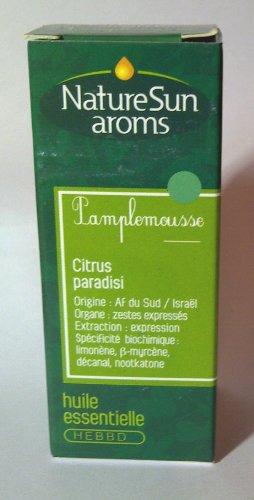 Nature Sun Aroms - Aceite aromático orgánico de pomelo - Económico 30 ml