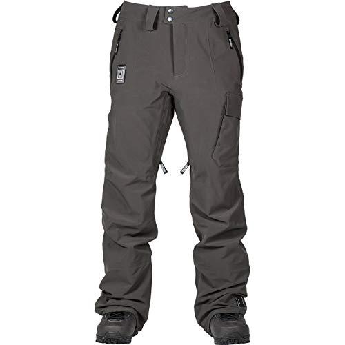 L1 Premium Goods Gemini Pantalón De Snowboard para Hombre, Raven, L