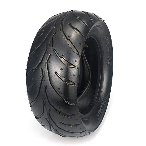 LISTRA 110/50-6.5 Tire and Inner Tube Set for 38-49cc Mini Pocket Rocket Drit Pit Bike Scooter