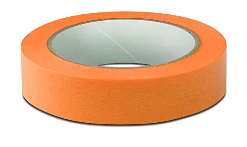 Fine-Line Tape für scharfe Kanten, Farbe: orange - 30 mm 0,08 mm x 50 m - 8er Pack