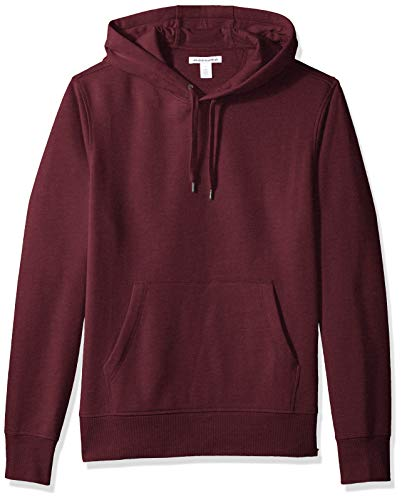 Amazon Essentials Men's Hooded Fleece Sweatshirt, Burgundy, X-Large