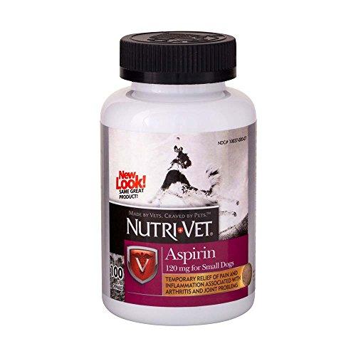 NutriVet K9 Dog Aspirin for Small Dogs 100ct