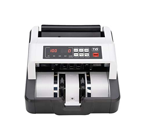 Metis Manual Note Counting Machine with Fake Note Detection Feature, Counts Indian Rupee, US Dollar & Euro Currency