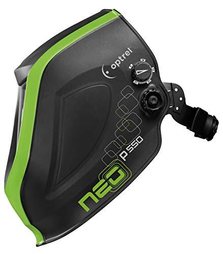 neo p550 DIN 9-13, Sichtfeld 50 x 100 mm, schwarz/grün