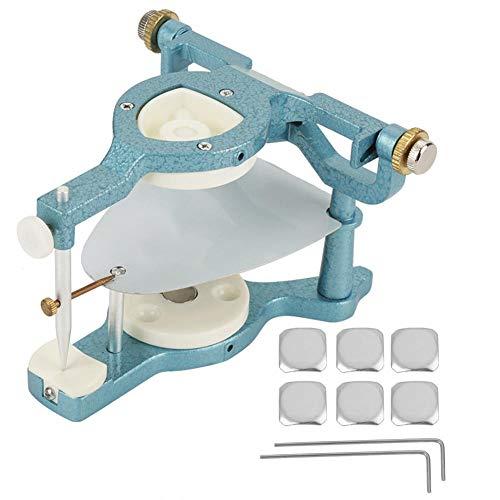 dgtrhted 9 en 1 Equipo de articulador magnético Ajustable de Boca Completa de Gran tamaño para Laboratorio Dental