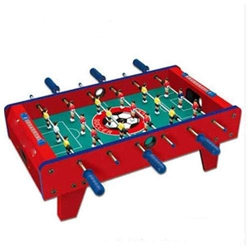 JJSFJH Foosball Tabelle, Table Top Football, Kicker Tischspiele, Mini-Tisch Kinder Erwachsene Tischfußball, Indoor- und Outdoor Home Entertainment-Spiele spielt, 69x37x24 cm
