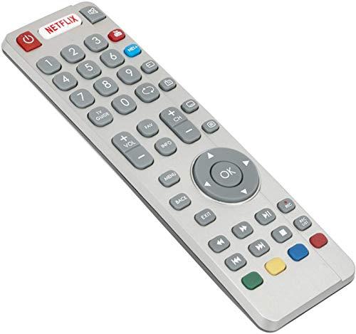 ALLIMITY Fernbedienung Ersetzt für Sharp Aquos UHD 4K Smart 3D TV LC-43CUG8462KS LC-49CUG8461KS LC-55CUG8462KS LC-32CFG6022K LC-32CFG6032E LC-32CFG6351K LC-40CFG6242E