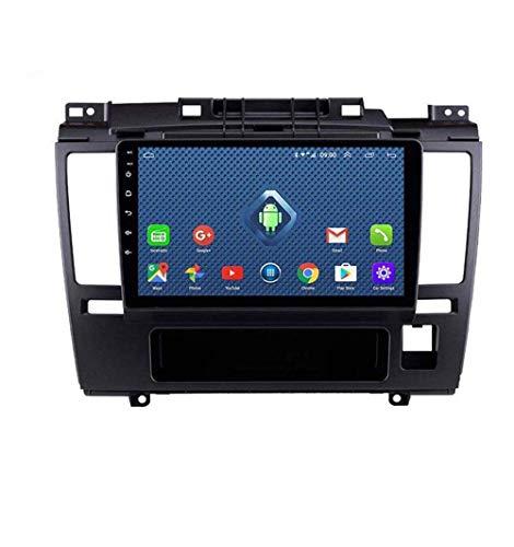Radio de coche Android 8.1, GPS, 9 pulgadas, 1080P, pantalla táctil HD, estéreo, TV, para Nissan Tiida 2005 – 2010, con control en el volante, Bluetooth, manos libres, Link DAB,4 G + WiFi 1 G + 16 G