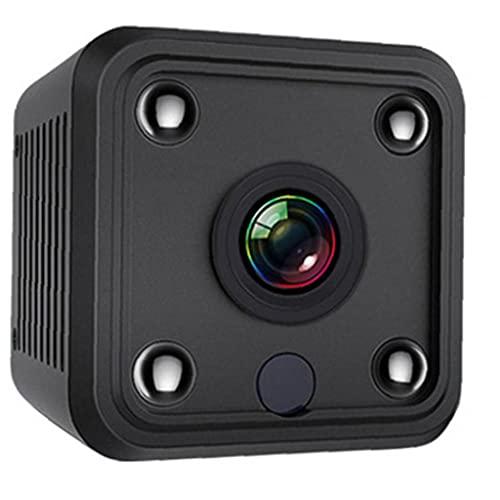 MaylFre Mini cámara inalámbrica Cámara Pequeña Seguridad con visión Nocturna Audio de Movimiento 1080P HD cámara de WiFi de hojalata Grabador de vídeo portátil, Mini cámara