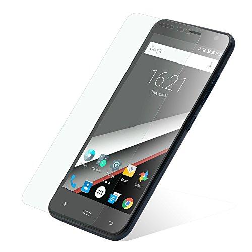 PHICOMM Clue L Bildschirmschutzfolie | Schutztfolie Smartphone | Folie Silikon-Haftschicht kratzfest, verrutschsicher