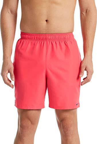 "Nike Swim Solid Lap 7\"" Volley Shorts Herren Ember Glow Größe L 2019 Badehose"