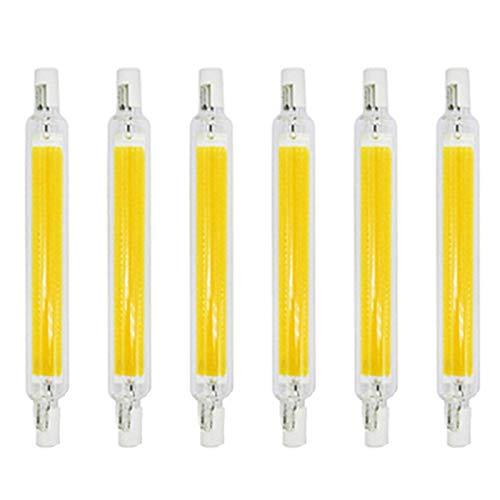 ACXLONG R7S Regulable LED 118MM Luz blanca fría COB Bombilla 10W / 20W 220V Linterna de ahorro de energía Reemplazar 100W / 200W Lámpara halógena Bombillas de luz con ángulo de haz de 360 ° Lámpara