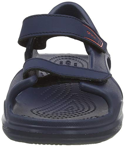 Crocs Kids' Swiftwater Expedition Sandals, Navy/Navy, 7 Toddler