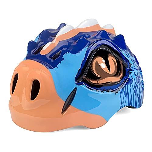 WEW Lindos Animales 3D Cascos de Bicicleta para niños pequeños Casco de...