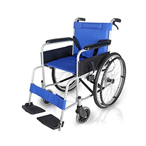 Whirl rolstoelen met eigen aandrijving, 40 cm zitdiepte, inklapbaar mobiel apparaat voor transport in gesloten ruimtes en voor eenvoudige opslag, compacte rolstoel voor ouderen en oudere