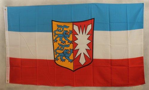 Schleswig-Holstein Flagge Großformat 250 x 150 cm wetterfest Fahne
