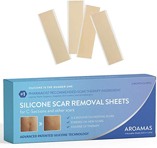 Aroamas Professional Silicone Scar Removal Sheets for Scars...