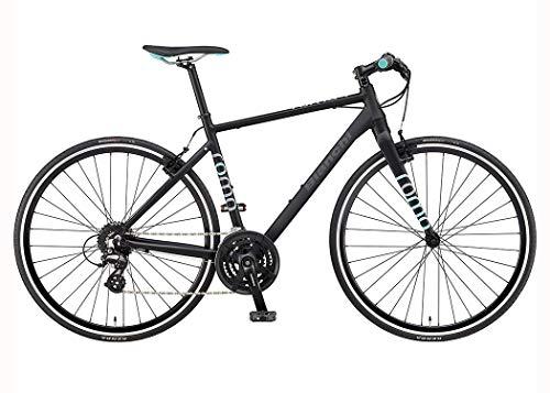 BIANCHI ROMA-4 (3x8s) クロスバイク700C [マットブラック] B07M5ZNCL2 1枚目