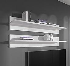 muebles bonitos – Estante Modelo Fux en Color Blanco