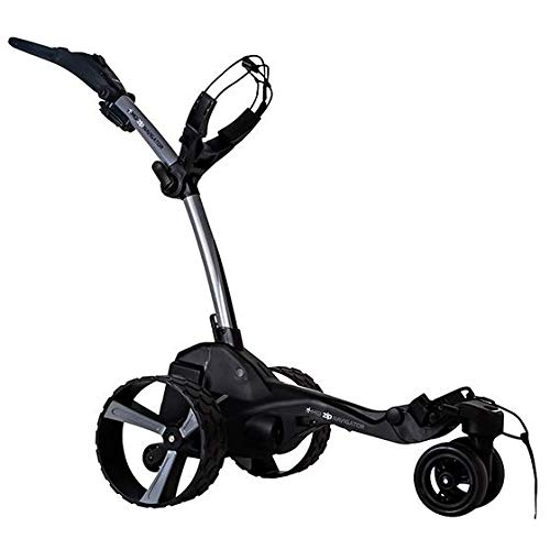 MGI Zip Navigator Remote Control Electric Golf Caddy, Titanium Gray