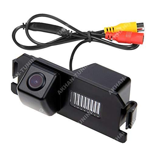 Akhan CAM35, Telecamera di retrovisione a Colori, sensore di parcheggio con Linee Guida per Hyundai...