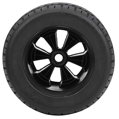 Neumático RC Duradero, 4 Piezas 1/8 RC Llantas de Goma para Coche, Ruedas de camión con Apariencia Exquisita y Alta flexibilidad para Piezas de Accesorios de Carreras ZD 165x104 mm