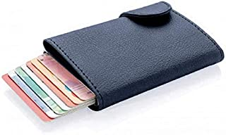 Santhome Card Holder Wallet, Men's Minimalist Slim Metal RFID NFC Blocking Contactless Card Protector Security Pop up wall...