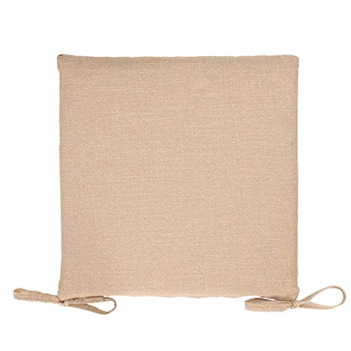 YUESFZ Chair Pads Fashionable Cotton And Linen Sofa Cushions, 4cm Thick Dining Chair Cushion For Living Room, Bay Window Warm Coffee Table Futon (Color : B, Size : 40cm*8)