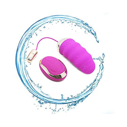 10 Different Frequency Rechargeable Remote Control Mini Massager Thrusting Massage Skin-Friendly Silicone Best Rated for Travel Gift