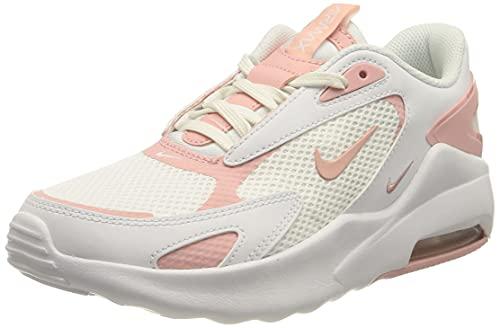 Nike Air Max Bolt, Scarpe da Corsa Donna, White/Pink Glaze-White, 40 EU