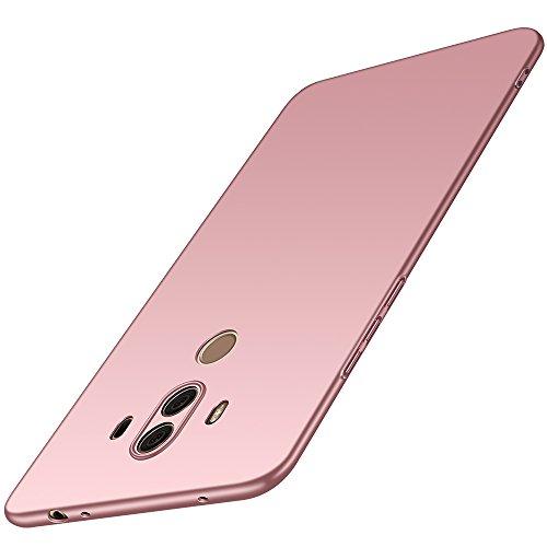Huawei Mate 10 Pro Hülle, Anccer [Serie Matte] Elastische Schockabsorption und Ultra Thin Design (Glattes Rosen-Gold)