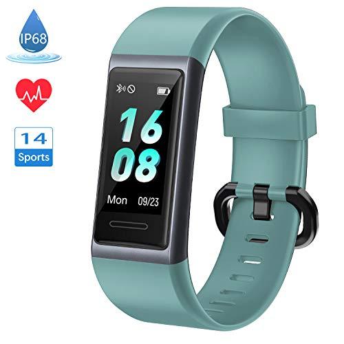 [Neuestes Modell] Fitness Armband, LIFEBEE Fitness Tracker mit Pulsmesser, IP68 Wasserdicht Smartwatch Aktivitätstracker 14 Trainingsmodi Fitness Uhr Sportuhr Schrittzähler für Damen Herren Kinder