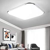 Lueigmo LED Deckenlampe, LED Pane LED Deckenleuchte, für Wohnzimmer Schlafzimmer Flur Büro Küche Balkon und Esszimmer [...