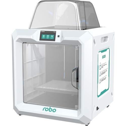 ROBO 3D E3 Pro 3D Printer - 9.80' x 11' x 11.80' Build Size - Polypropylene Supported - Wireless LAN