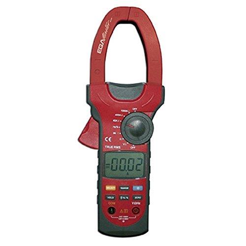 EGA Master 51248–40 a-1000 a DC/40 a-1000 a AC/400 mv-1 000 V DC/400 mv-750 V AC/temperatur tangamperemeter egatronik