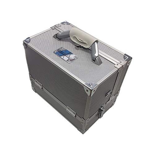 Valigia in alluminio porta trucchi piccola DUO - VUOTA - Cinecittà Make Up