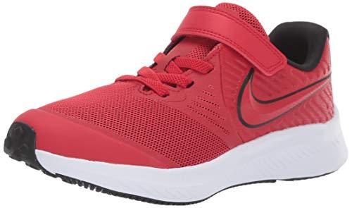 Nike Star Runner 2, Zapatillas de Atletismo Niños, Multicolor (University Red/Black/Volt 600), 31 EU