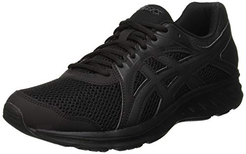 ASICS Mens JOLT 2 Trail Running Shoe, Black, 45 EU