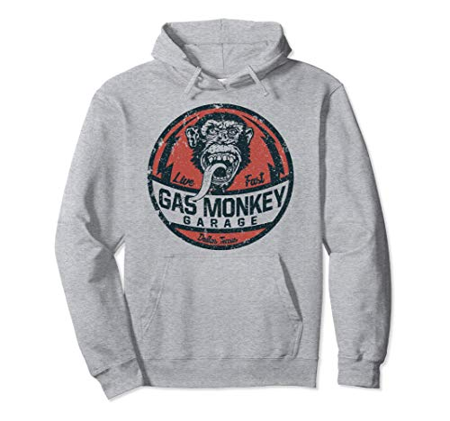 Gas Monkey Garage Live Fast Dallas Texas Pullover Hoodie