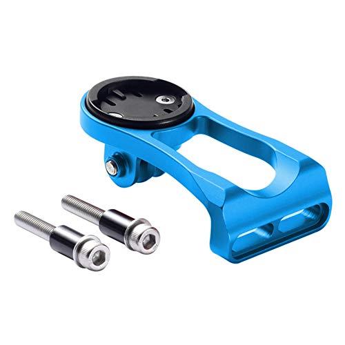 Meijunter Fahrrad Computer Lenker Montage Halter für Wahoo Elemnt/Mini/Bolt/Roam (Blau)