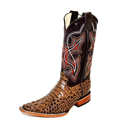 Botas mexicanas Cowboy Modelo Dario marrón (Numeric_45)