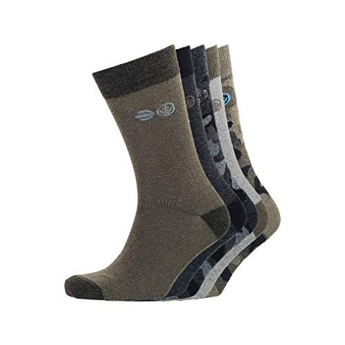 CrossHatch Herren Mossdale Socken, Sortiert, Einheitsgröße