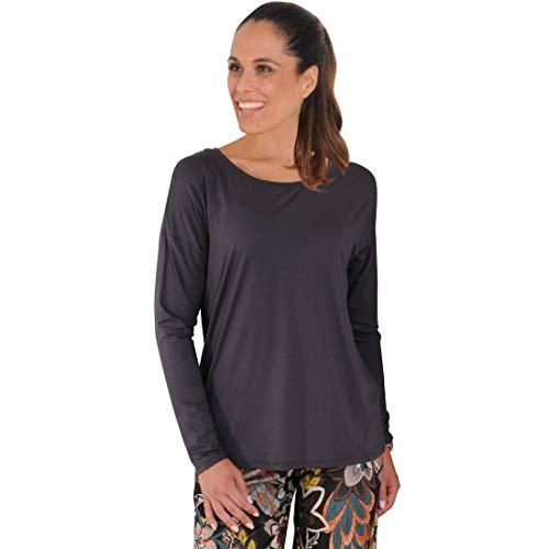 Langarm-Shirt Trend grau Gr. 40/42 - (15137 FB 979 GR. S (40/42))