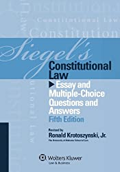 Siegel's Constitutional Law