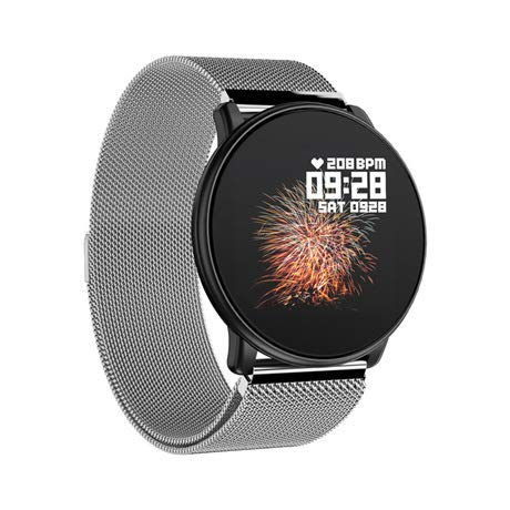 Zntn @ Smart Watch Smart Watch Runde 1.3 Farbdisplay Herzfrequenz Blutdruck Trainingsarmband Bluetooth Schritt Schlaf